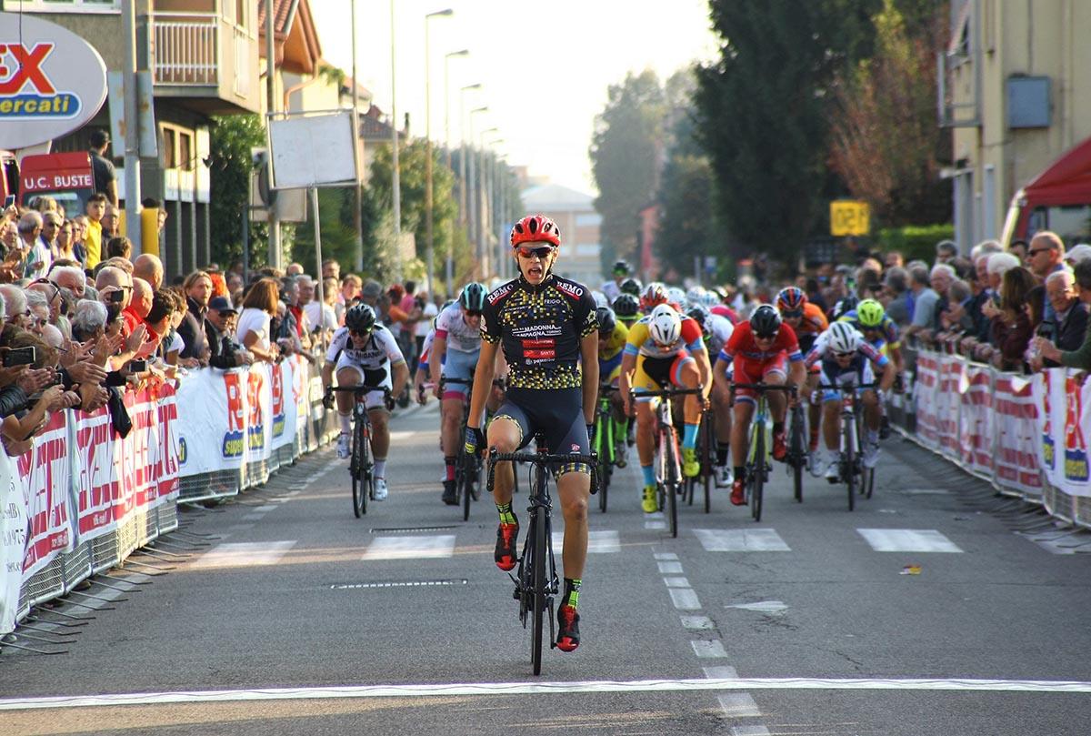 Damiano Valerio vince a Molinello di Cesano Maderno