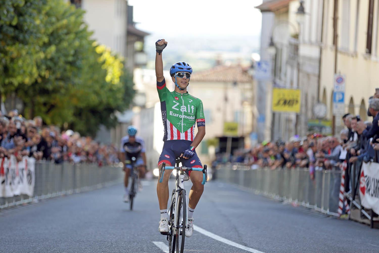 Samuele Battistella vince a San Daniele del Friuli