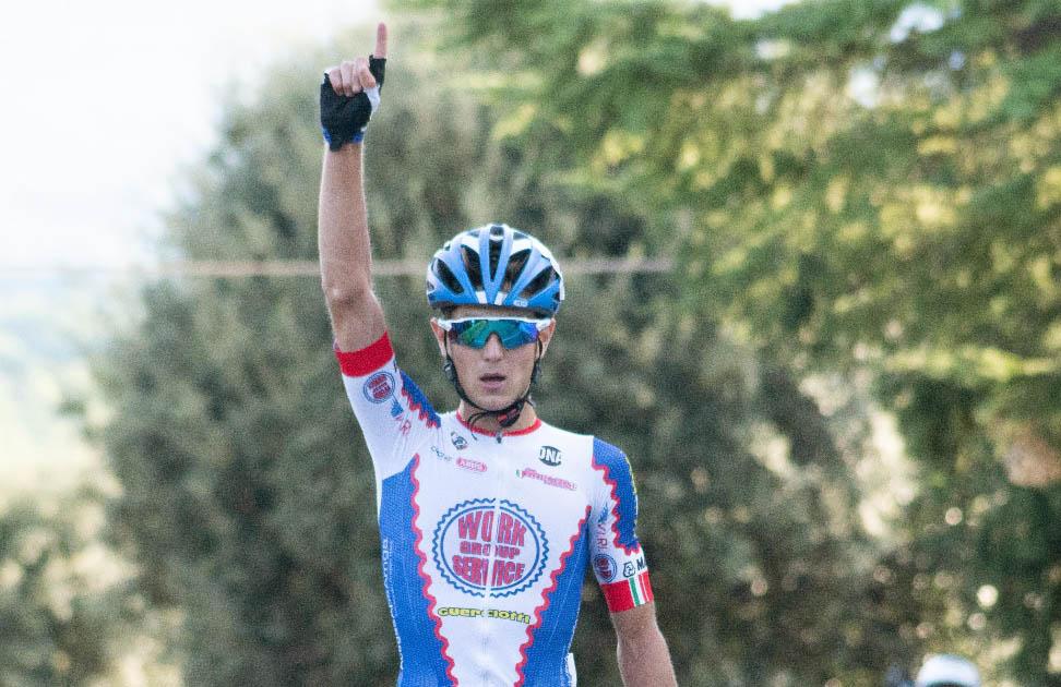 Gabriele Benedetti vince a Castiglion Fibocchi