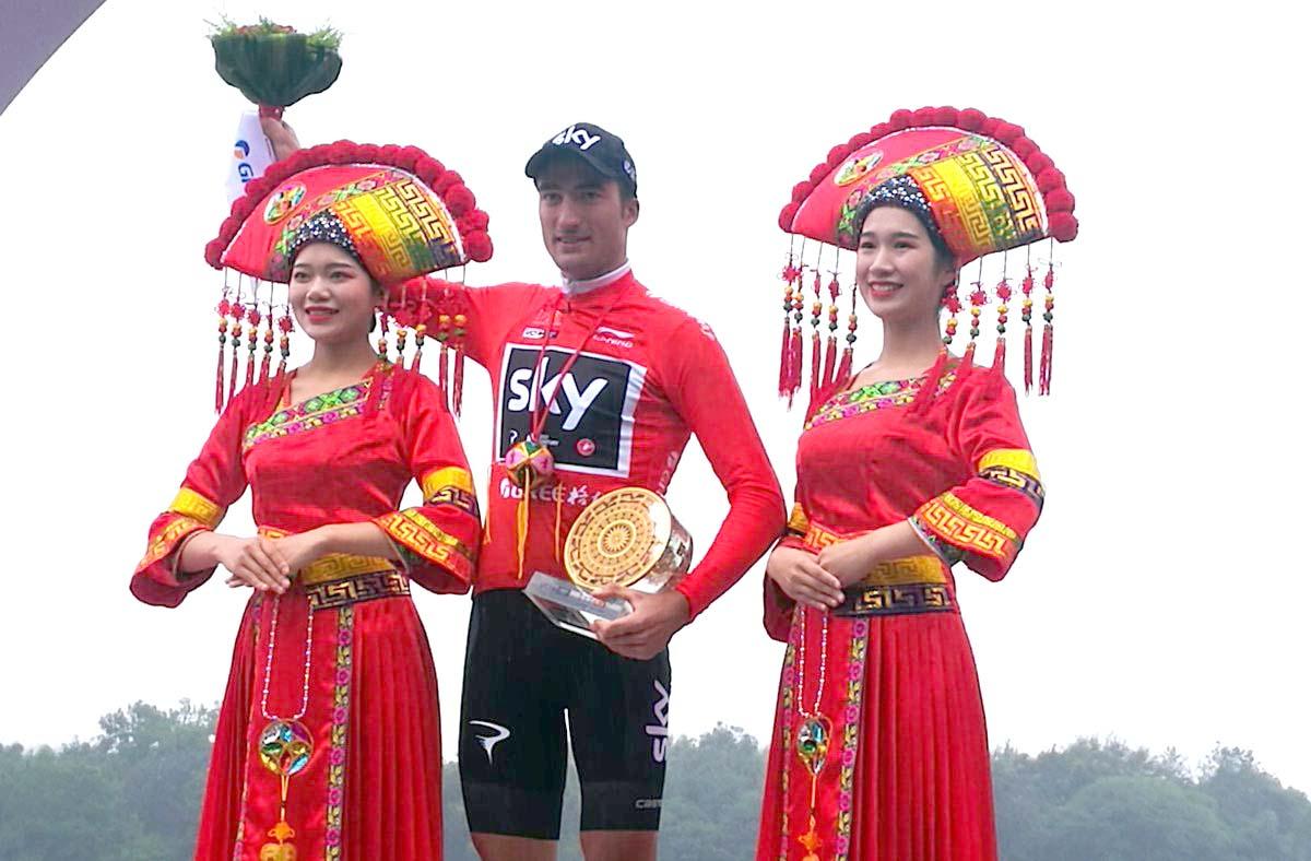 Gianni Moscon vincitore del Tour of Guangxi 2018