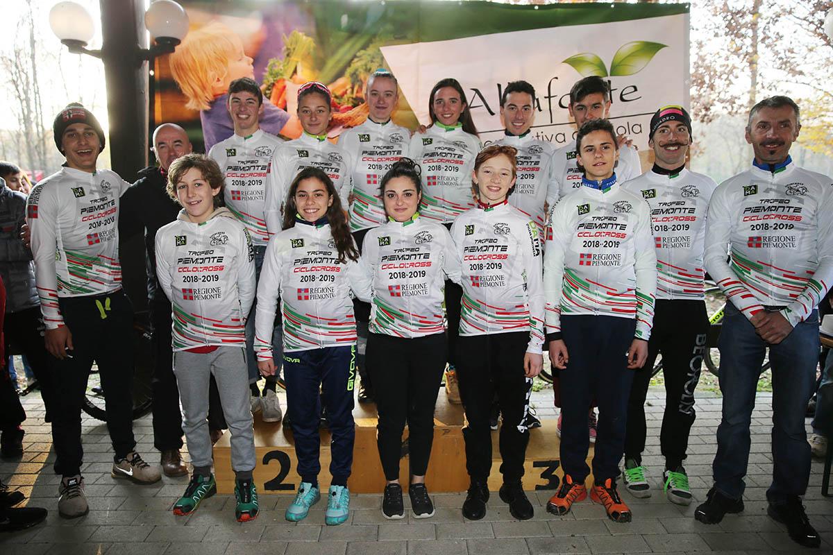 Tutti i leader della Coppa Piemonte Ciclocross dopo la prova di Borgosesia