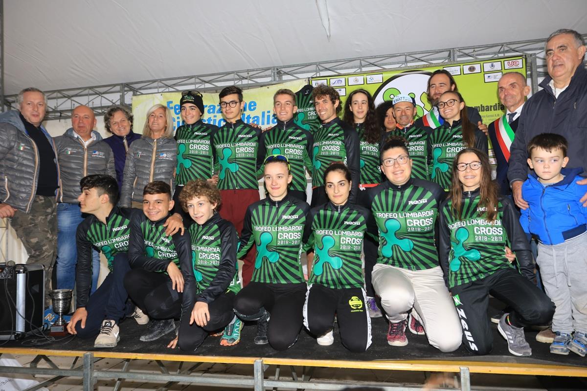 I primi leader del Trofeo Lombardia di Ciclocross