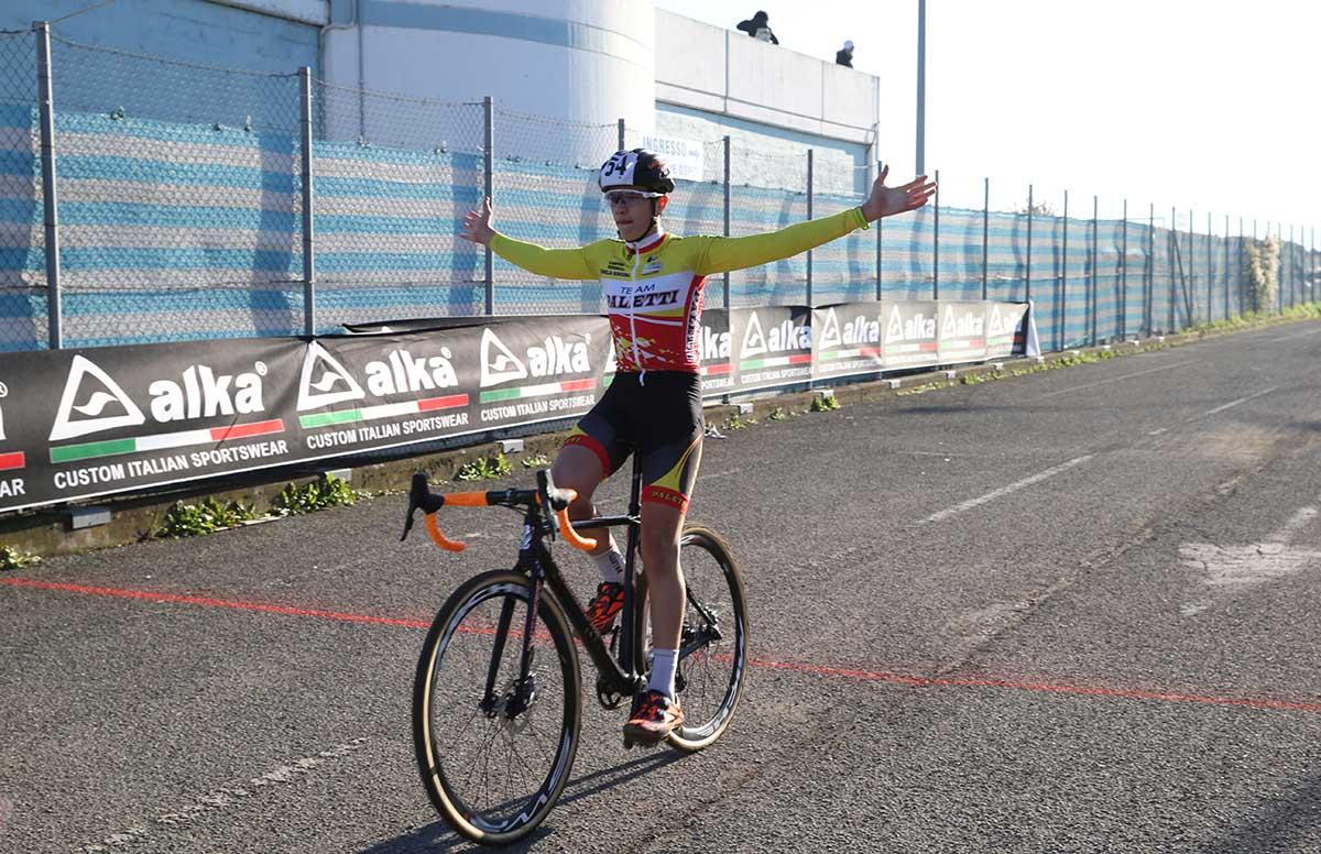 Luca Paletti vince a Carpaneto