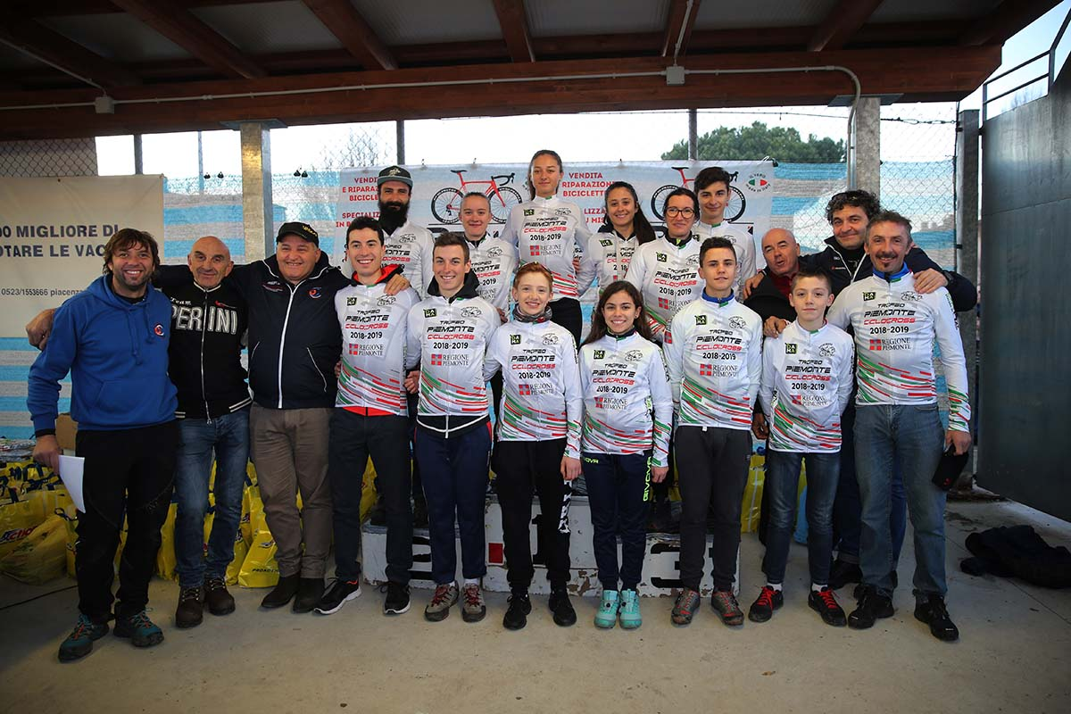Tutti i leader della Coppa Piemonte Ciclocross dopo la prova di Carpaneto