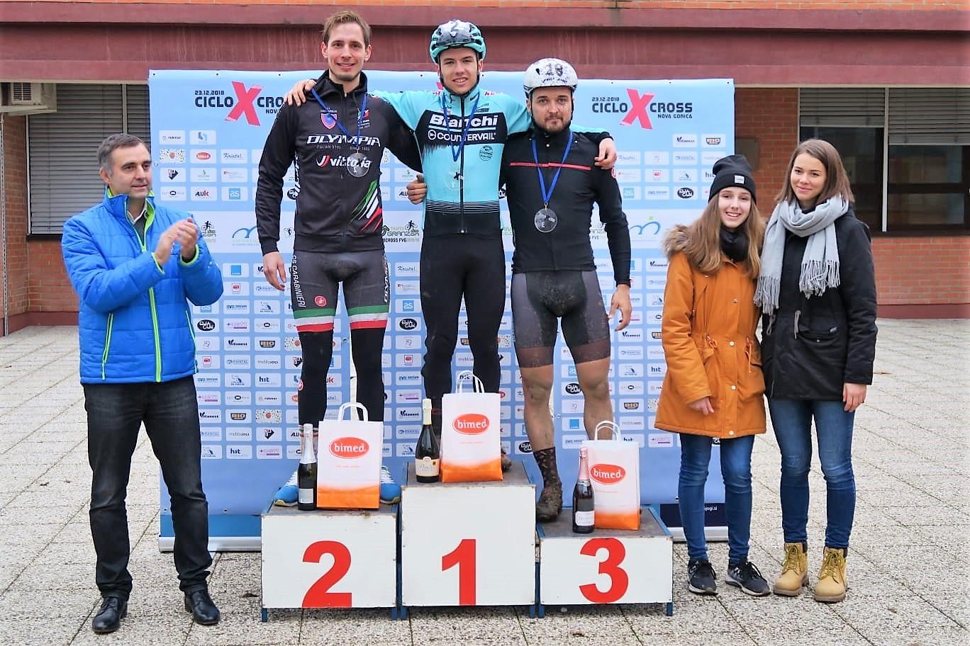 Il podio Elite di Nova Gorica