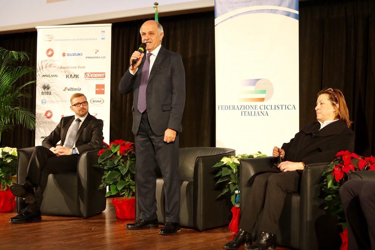 L'intervento del presidente FCI Renato Di Rocco