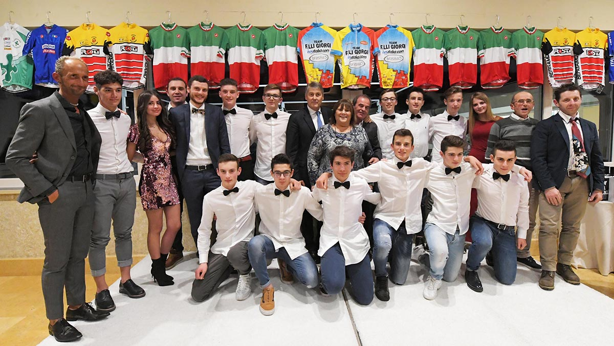 La squadra Allievi del Team Giorgi 2019