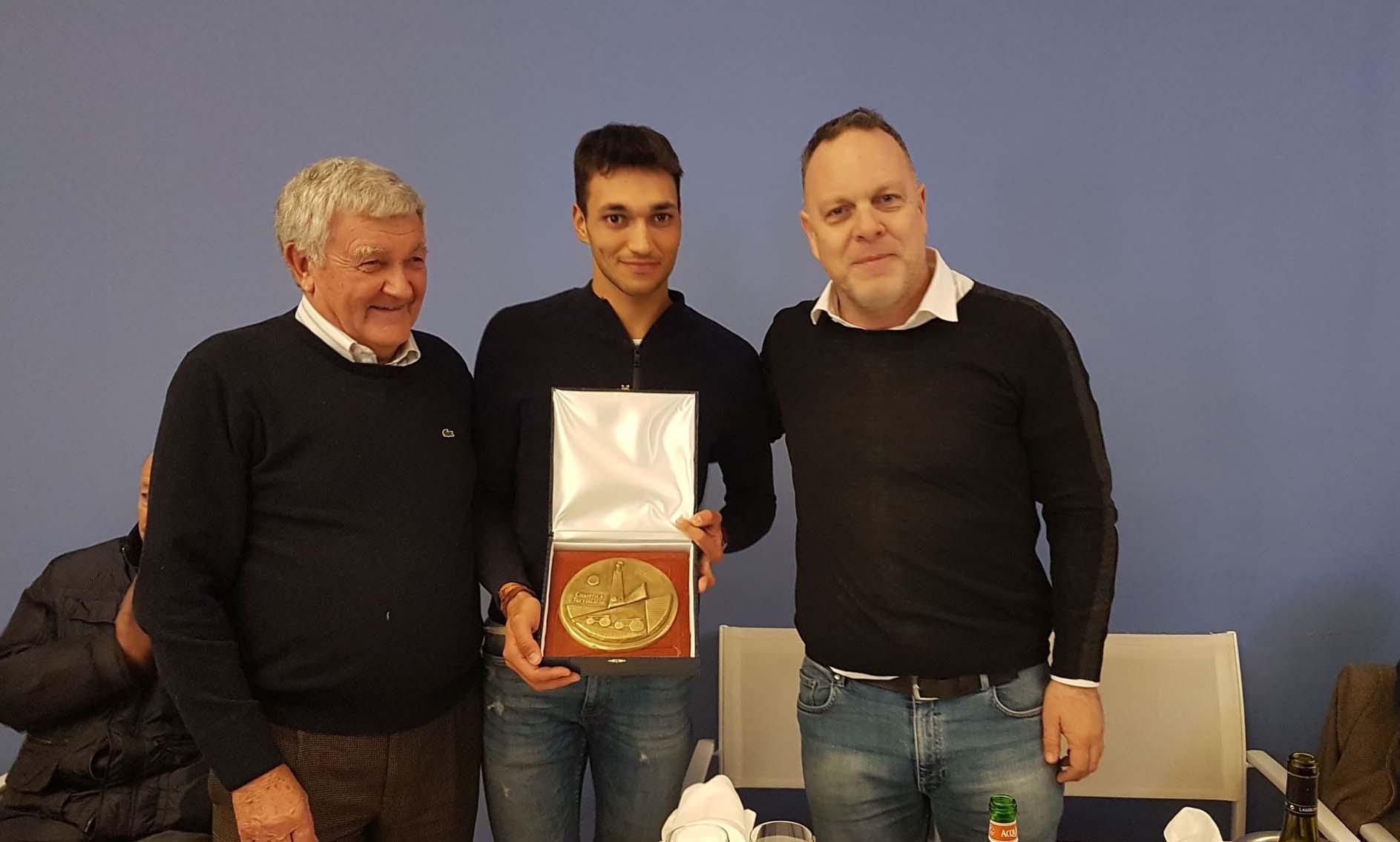 La Ciclistica Trevigliese premia Jalel Duranti