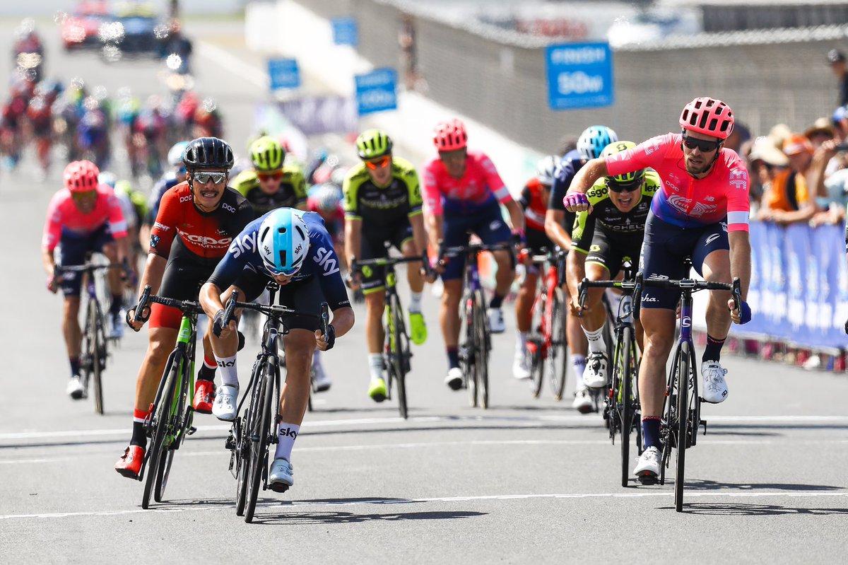 Daniel Mclay vince la prima tappa dell'Herald Sun Tour 2019