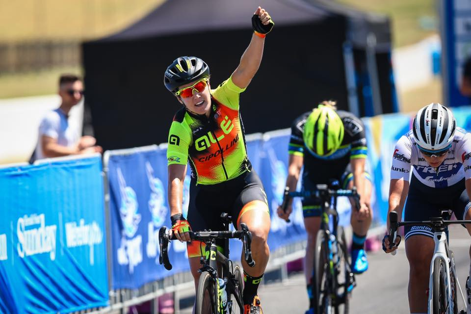Chloe Hosking vince la prima tappa dell'Herald Sun Tour femminile