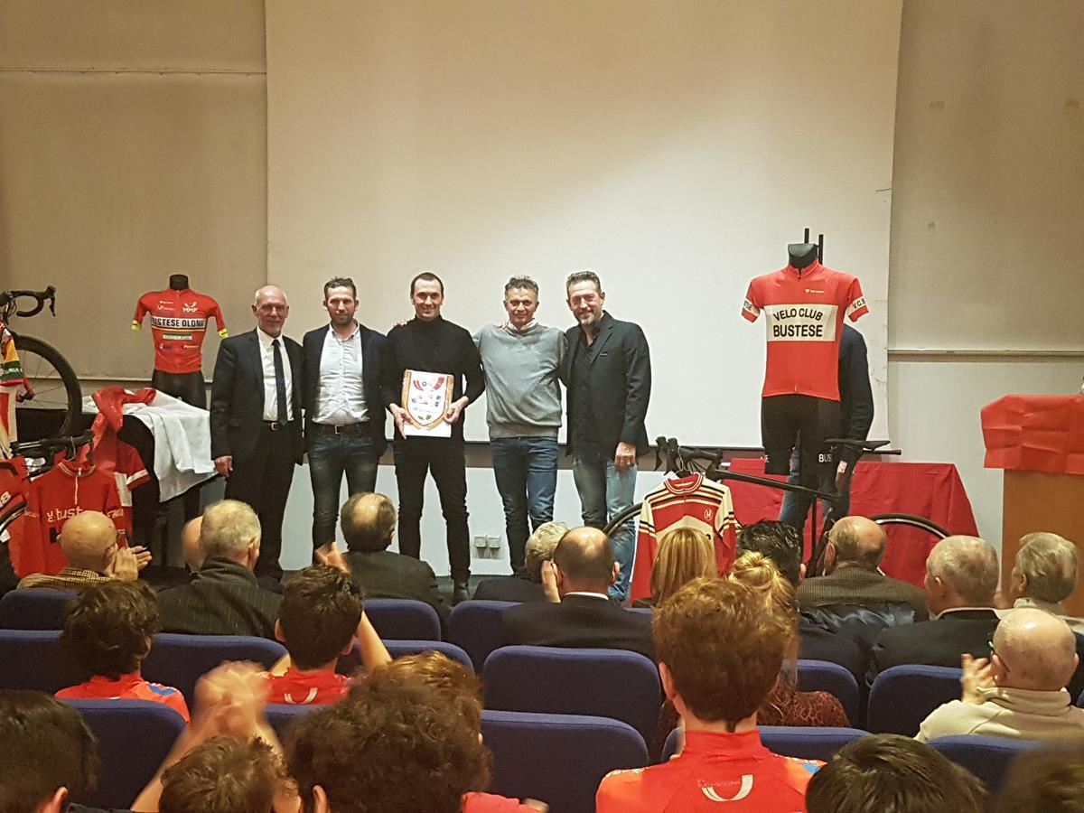 Da sinistra: Roberto Damiani, Dario Andriotto, Ivan Basso, Alessandro Cardi e Stefano Zanini