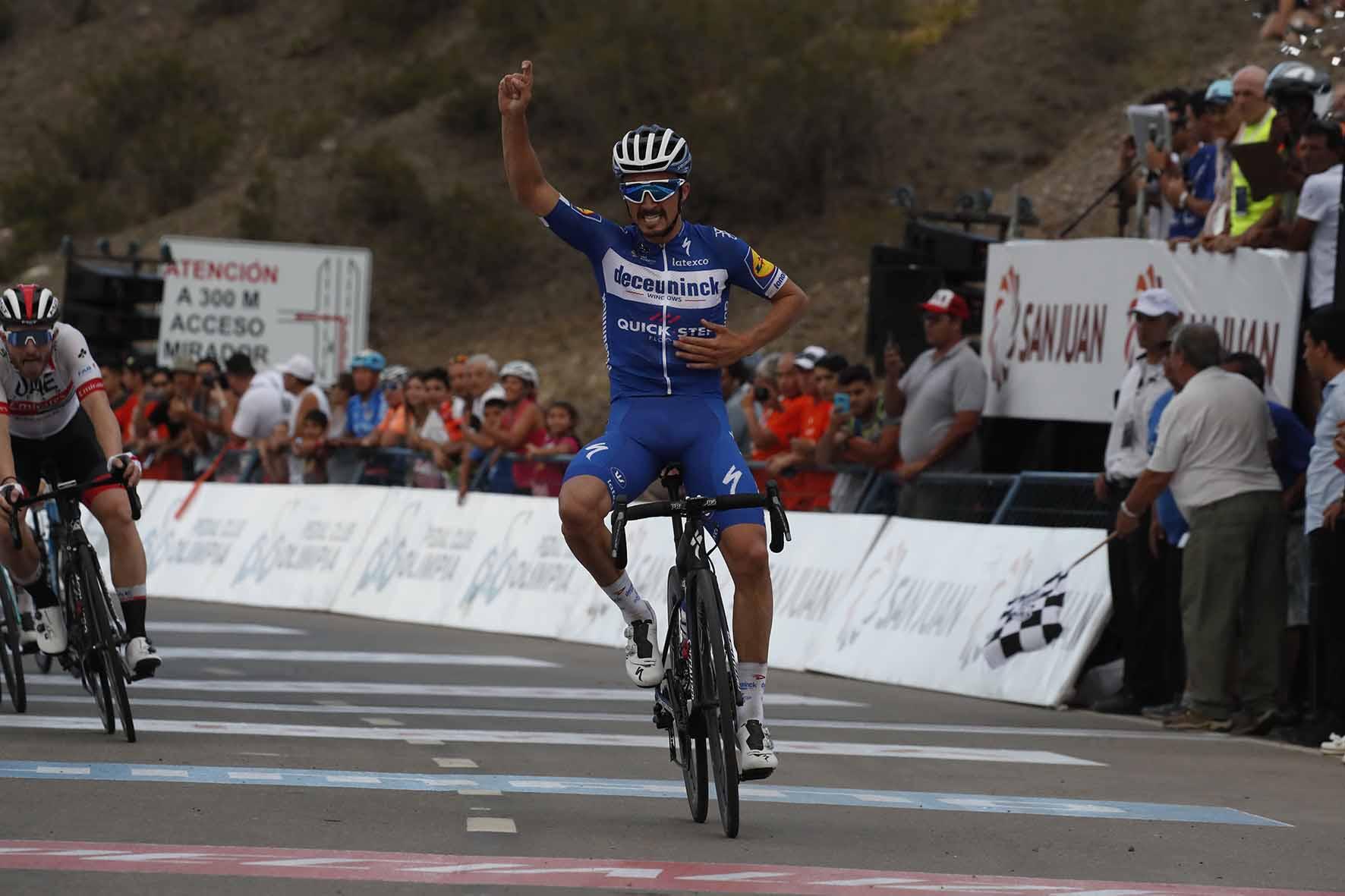 Julian Alaphilippe vince la seconda tappa della Vuelta a San Juan 2019
