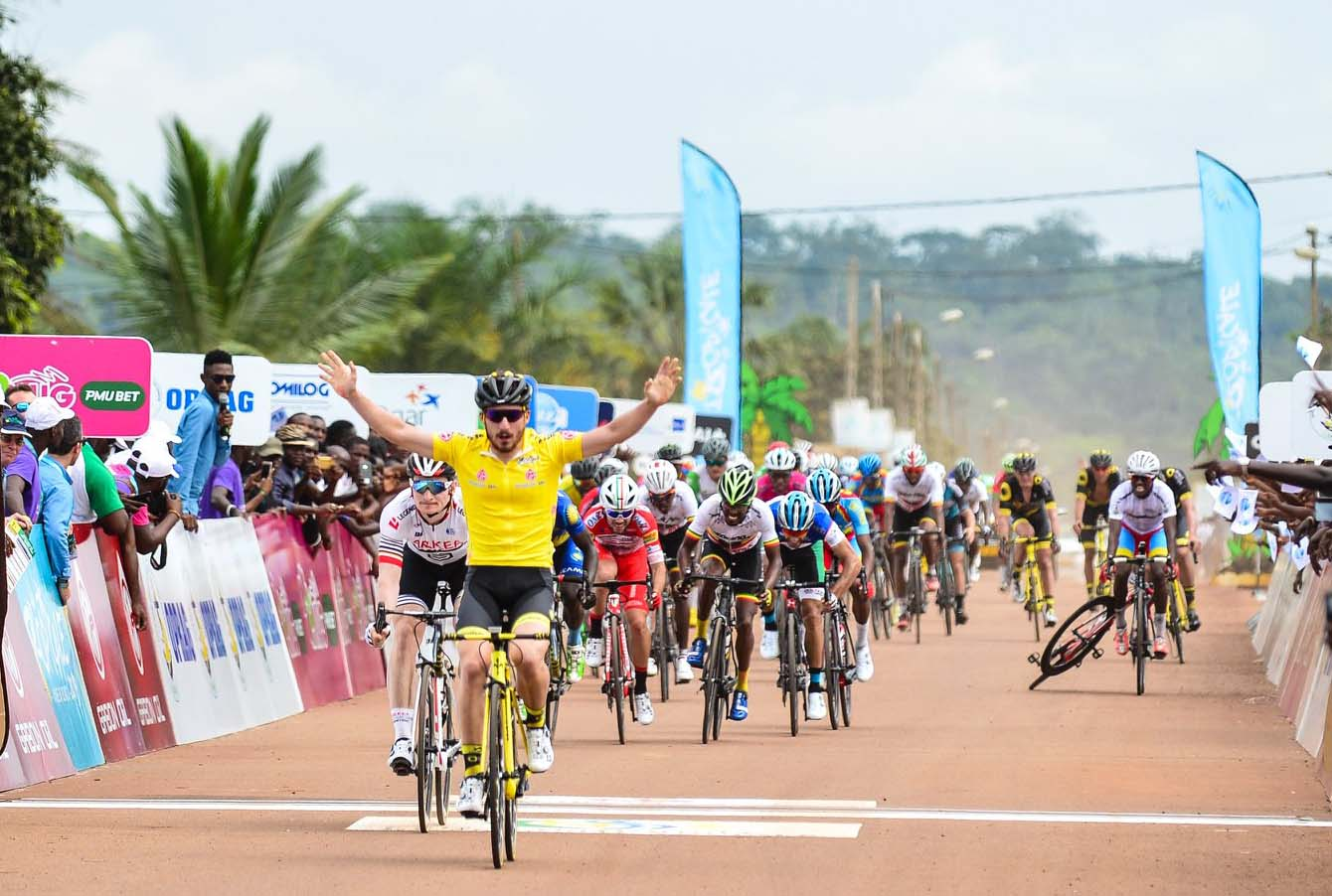 Niccolò Bonifazio vince la seconda tappa della Tropicale Amissa Bongo