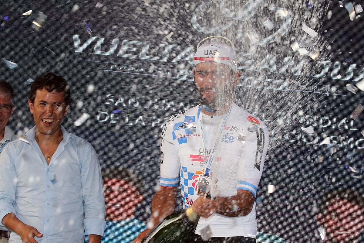 Fernando Gaviria resta leader della Vuelta a San Juan 2019