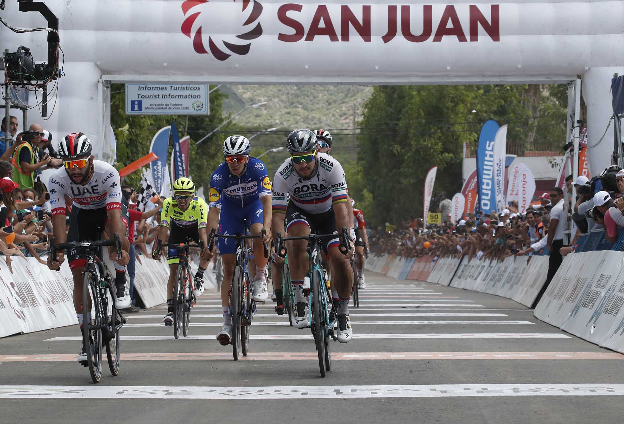 Fernando Gaviria vince la quarta tappa della Vuelta a San Juan 2019