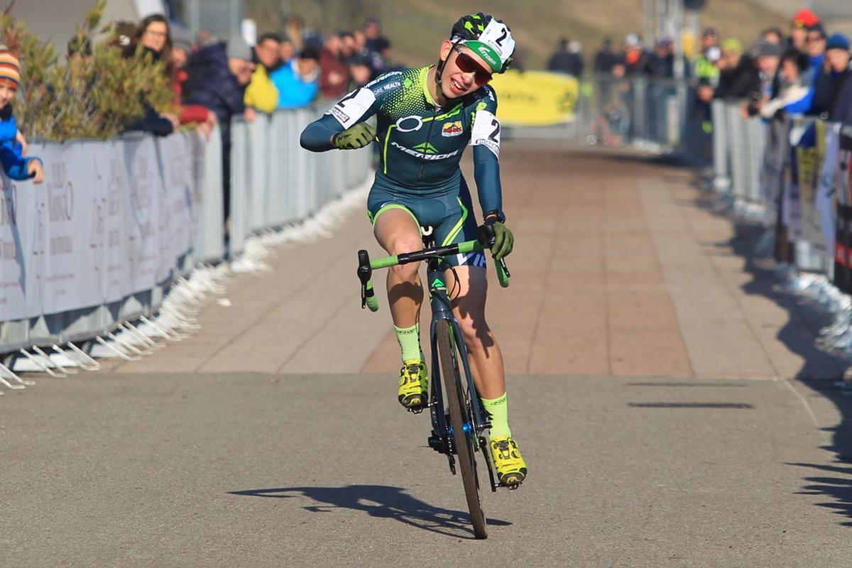 Samuele Leone vince il Campionato Italiano Ciclocross Juniores