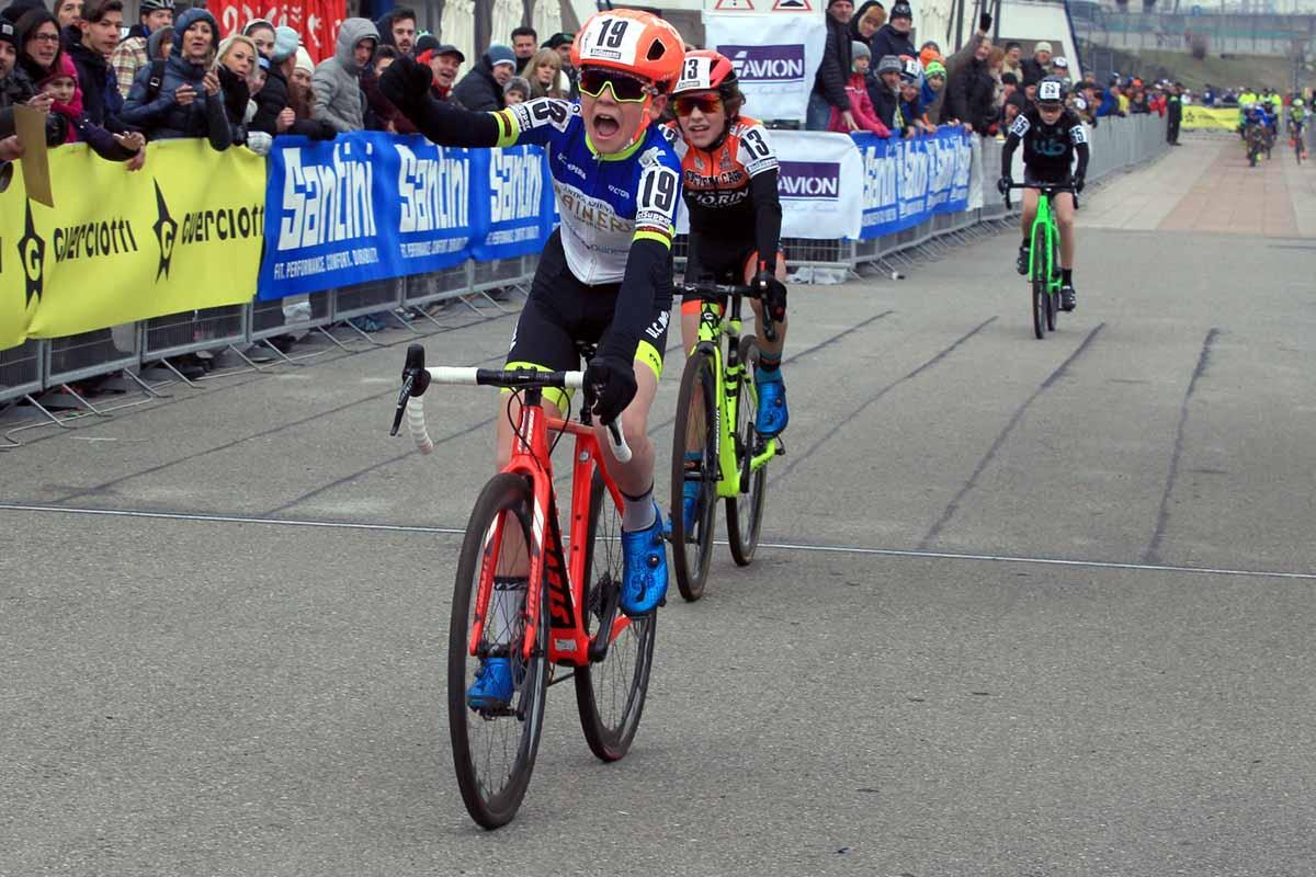 Matteo Gabelloni vince il Campionato Italiano Ciclocross Esordienti 1° anno