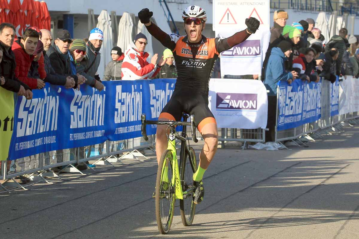Filippo Borello ha vinto il Campionato Italiano Ciclocross Allievi 1° anno