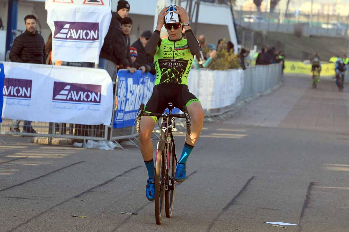 Ettore Loconsolo ha vinto il Campionato Italiano Ciclocross Allievi 2° anno