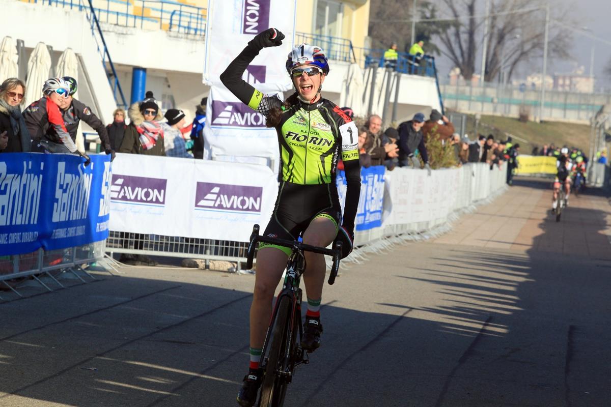 Federica Venturelli vince il Campionato Italiano Donne Esordienti 2° anno