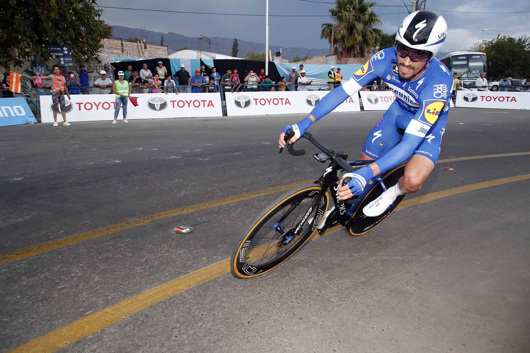 Julian Alaphilippe vince anche la crono della Vuelta a San Juan 2019