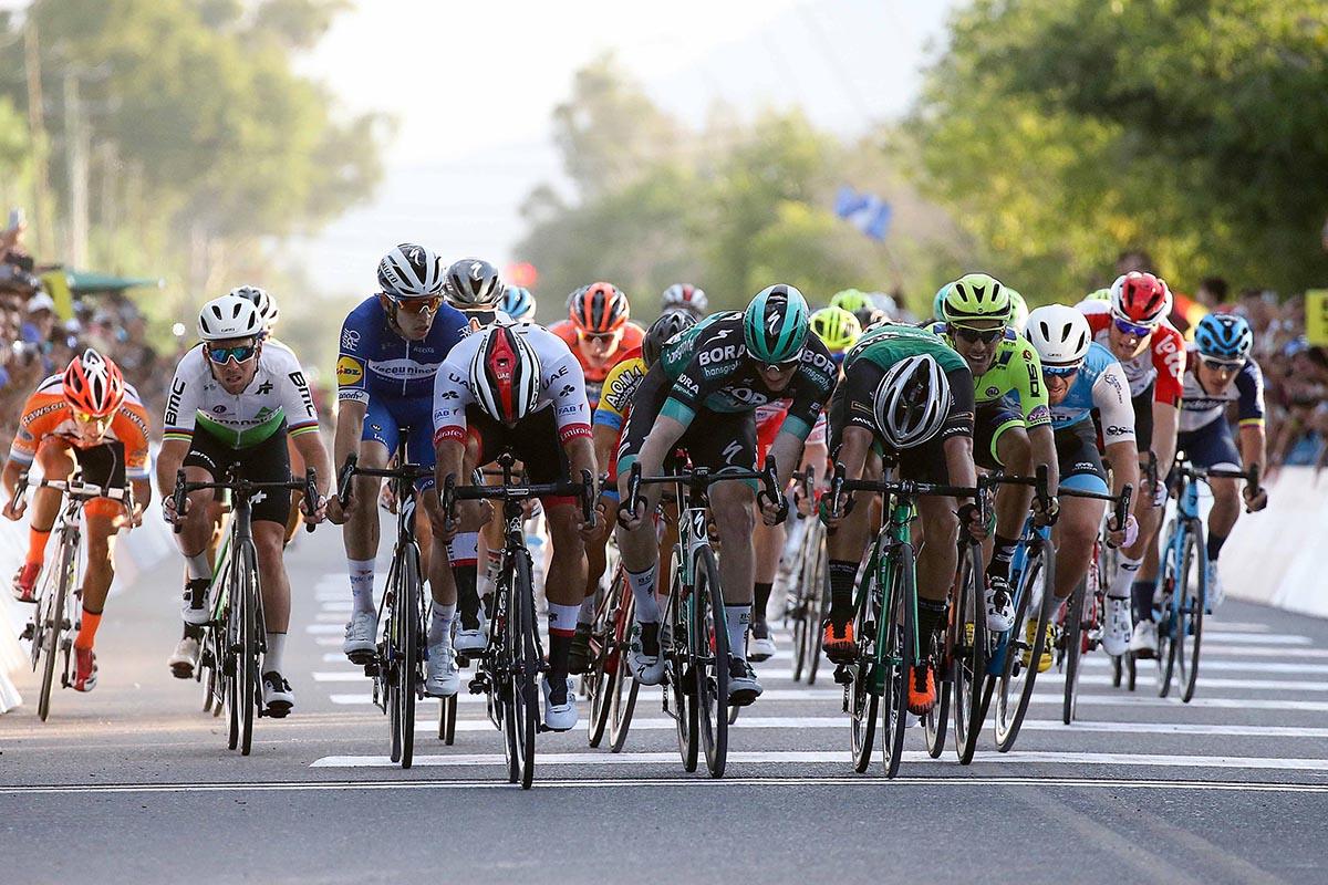 la prima volata della Vuelta a San Juan 2019