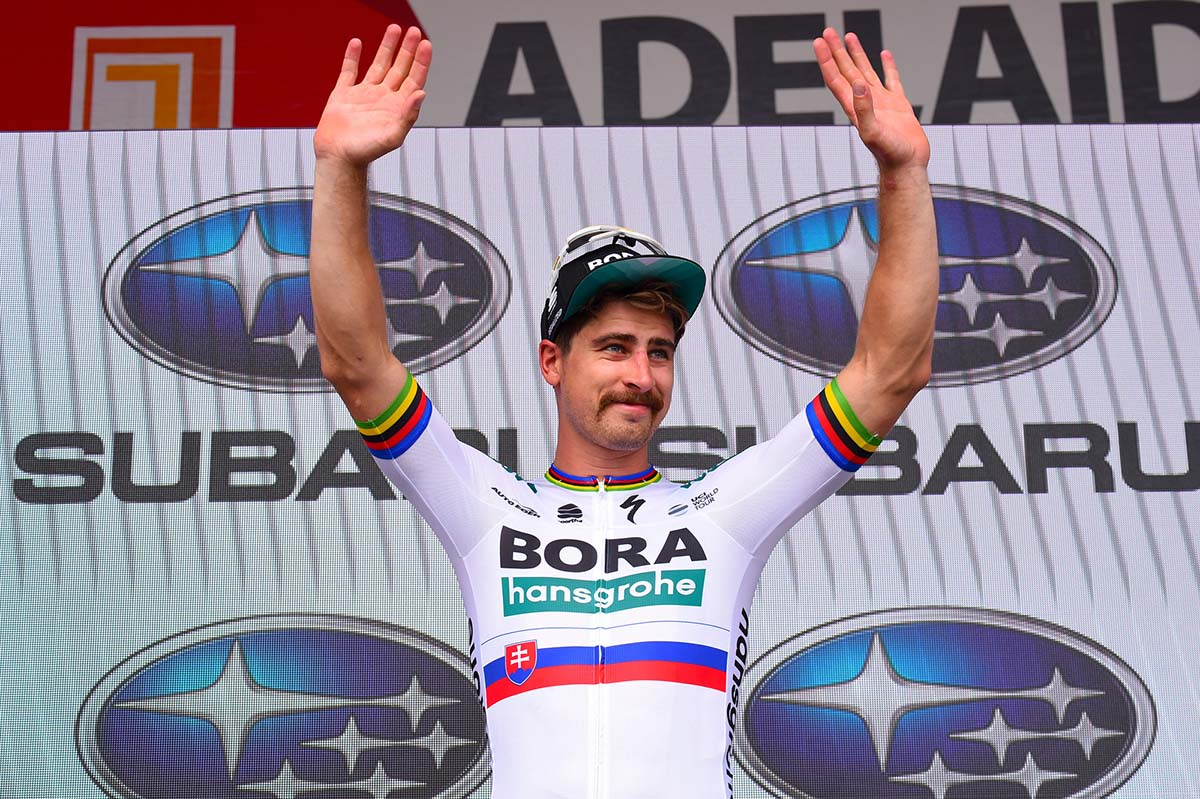 Peter Sagan vince la terza tappa del Tour Down Under