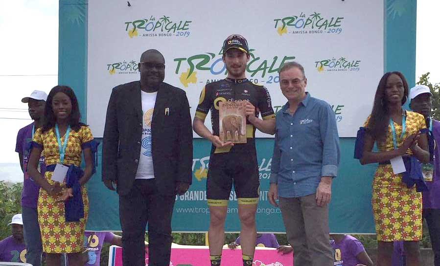 Niccolò Bonifazio vince la prima tappa della Tropicale Amissa Bongo