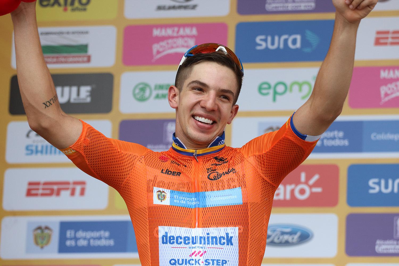 Alvaro Hodeg leader del Tour Colombia 2019