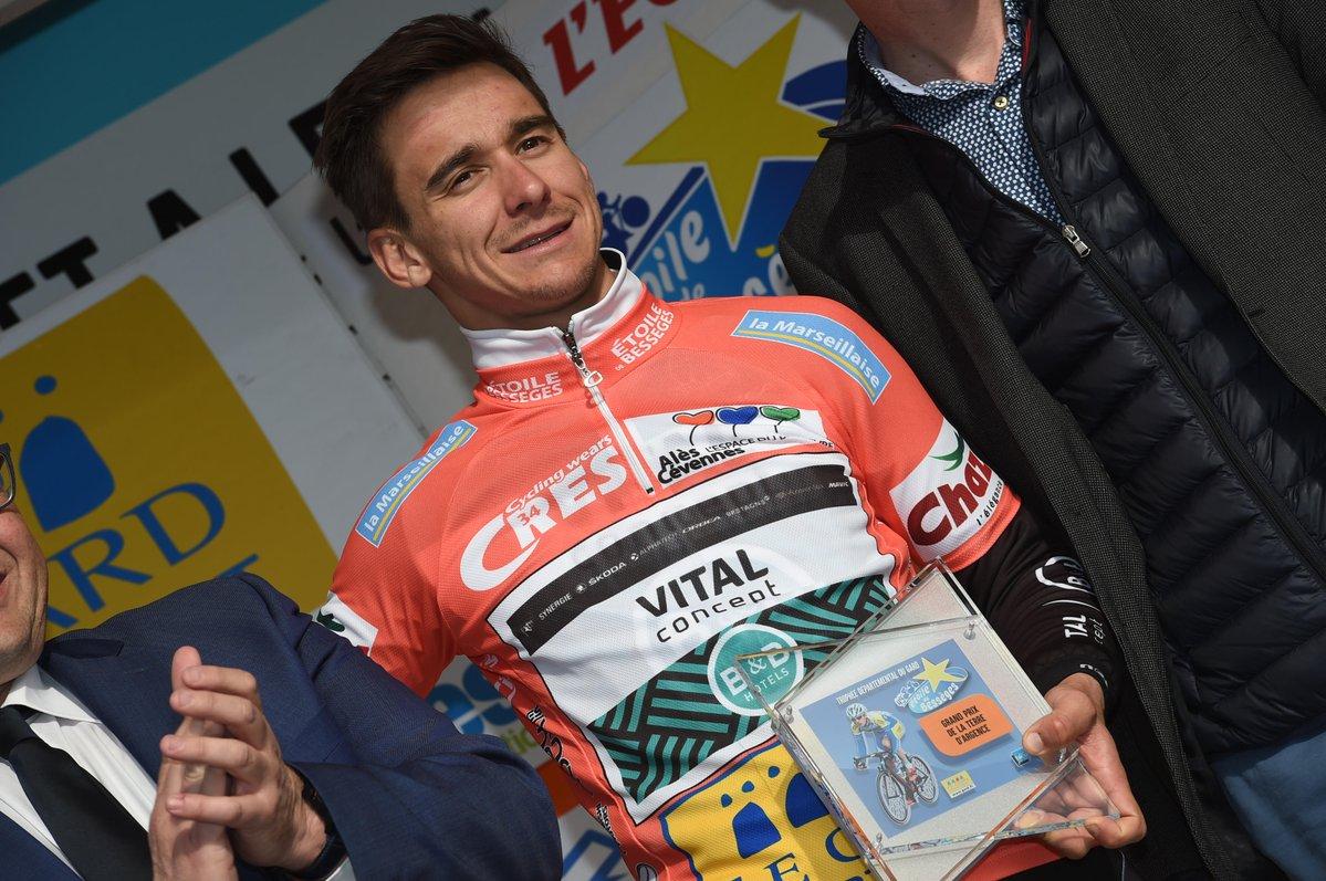 Bryan Coquard vincitore della prima tappa e primo leader della Etoile de Besseges