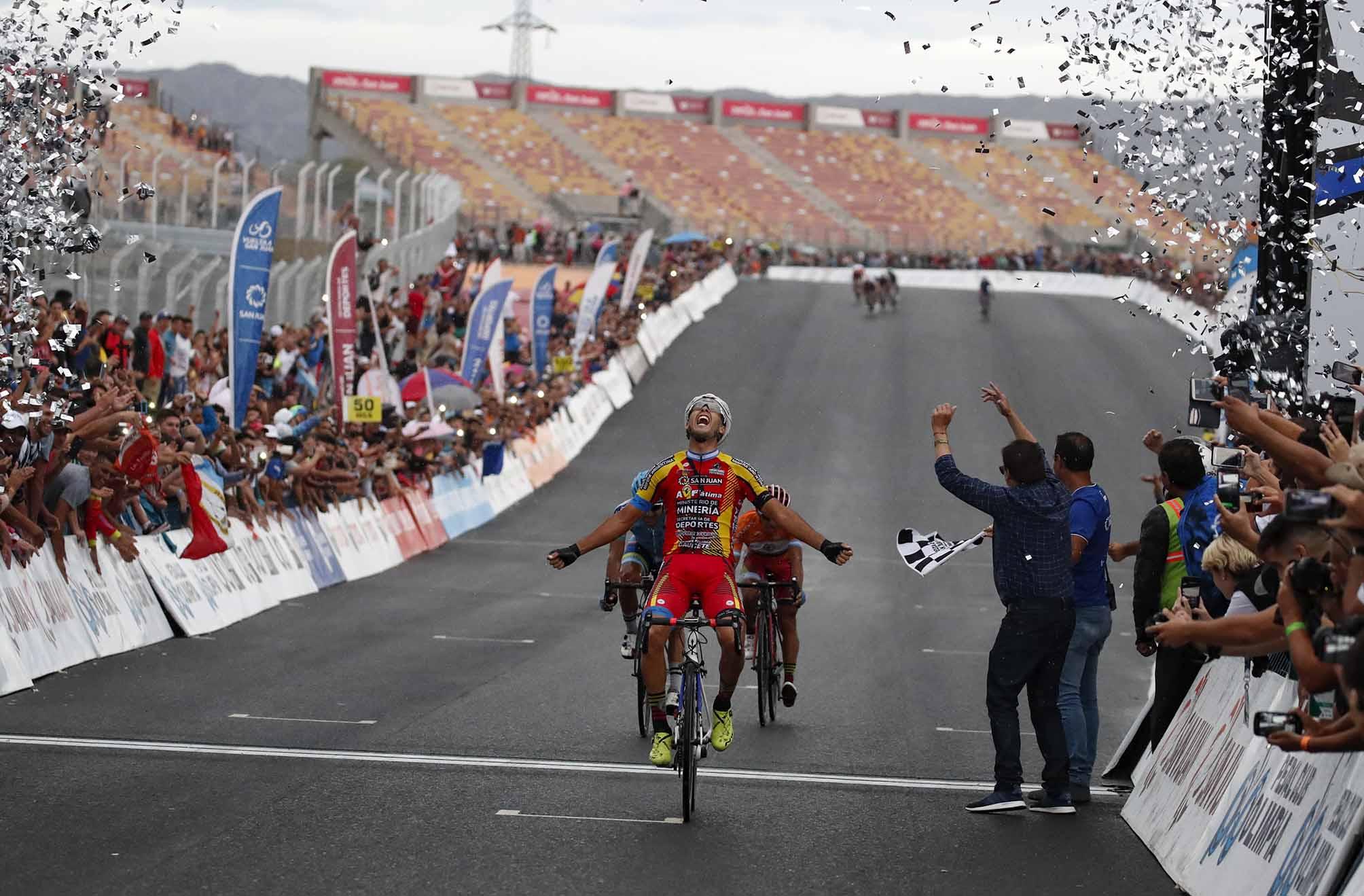 German Tivani vince la sesta tappa della Vuelta a San Juan 2019