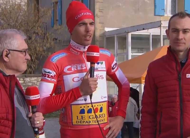 Christophe Laporte vincitore della seconda tappa della Etoile de Besseges
