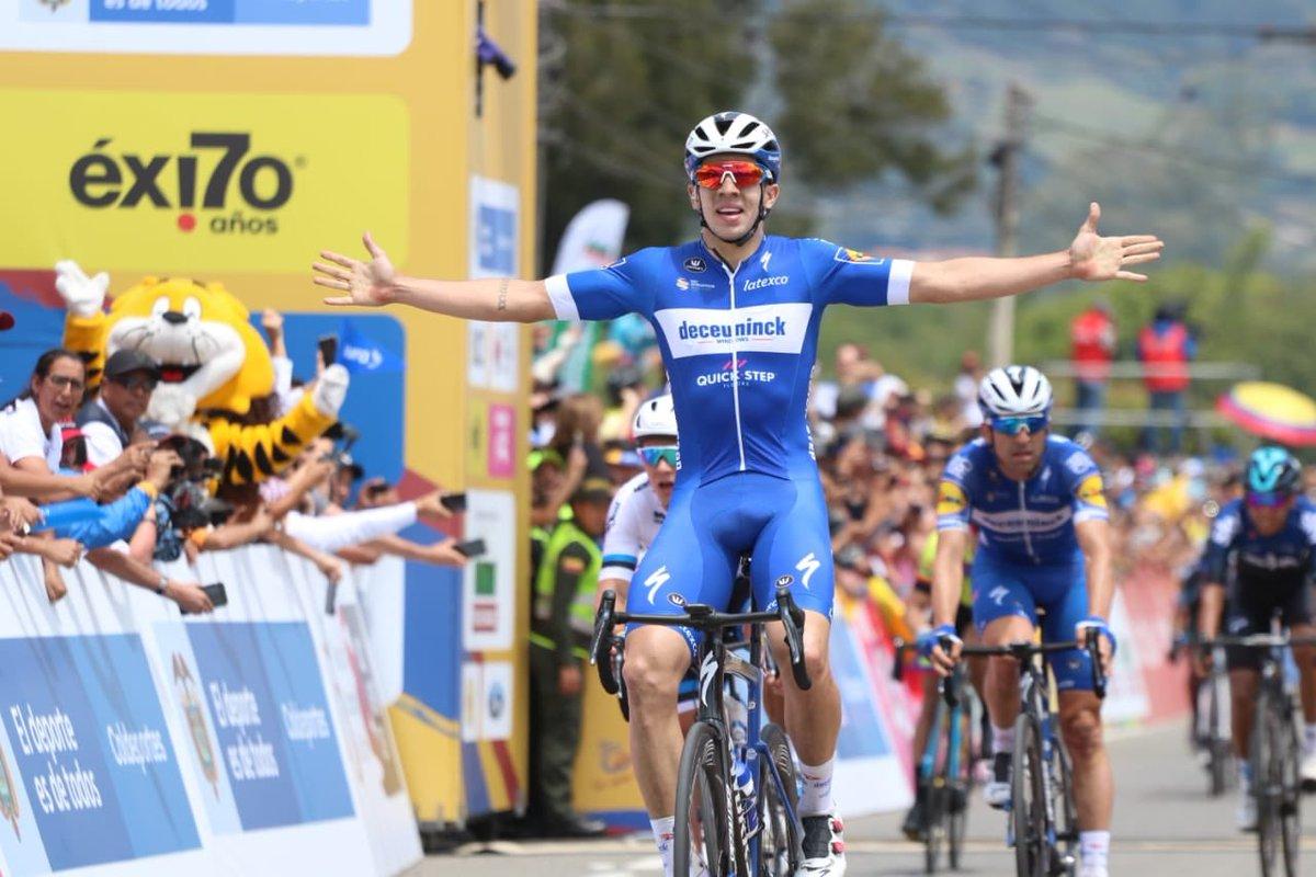 Alvaro Hodeg vince la seconda tappa del Tour Colombia 2019