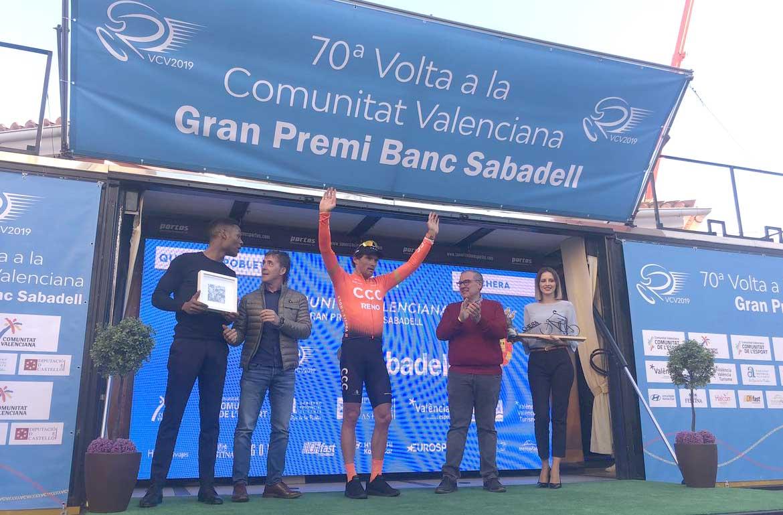 Greg Van Avermaet vince la terza tappa della Vuelta Valenciana