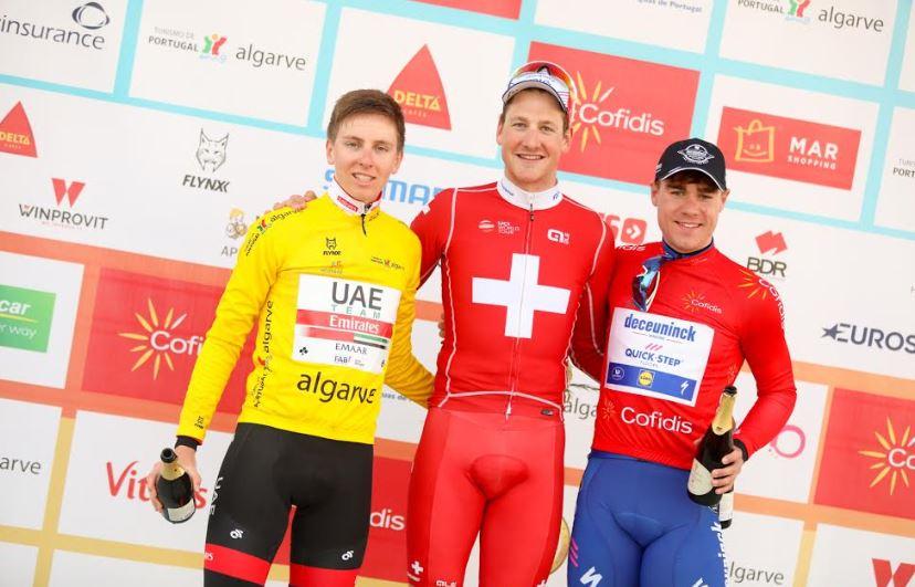 Stefan Kung vince la terza tappa della Volta ao Algarve