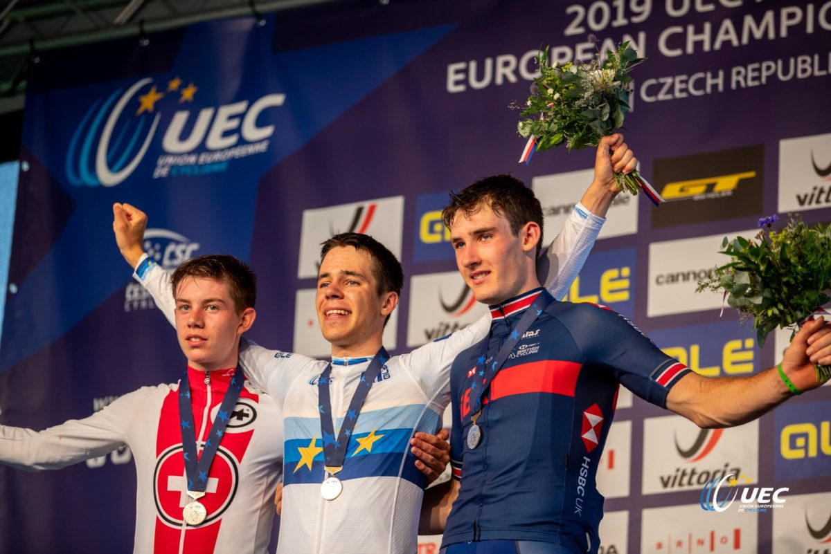 Podio Europeo XCO Juniores