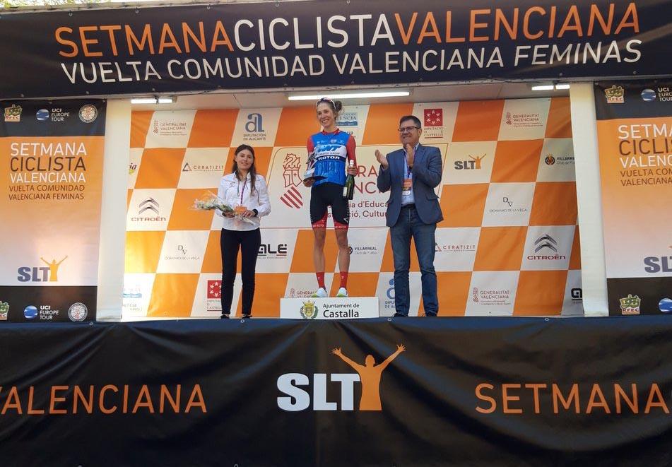 Il podio della terza tappa della Setmana Valenciana