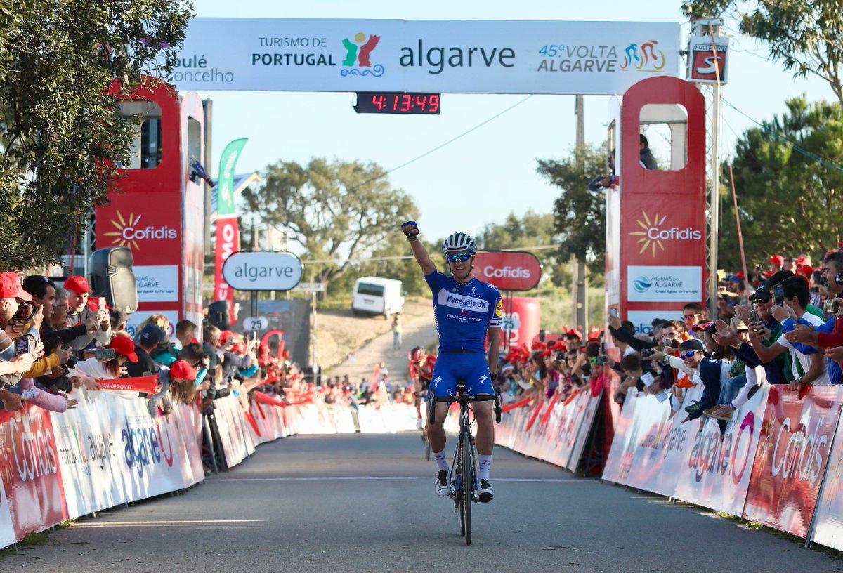 Zdeněk Štybarvince la quinta tappa della Volta ao Algarve