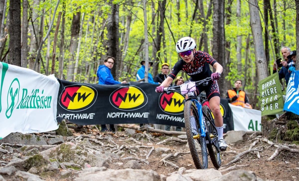 Sina Frei vince la Marlene Südtirol Sunshine Race di Nalles (foto Michele Mondini e Mario Pierguidi)