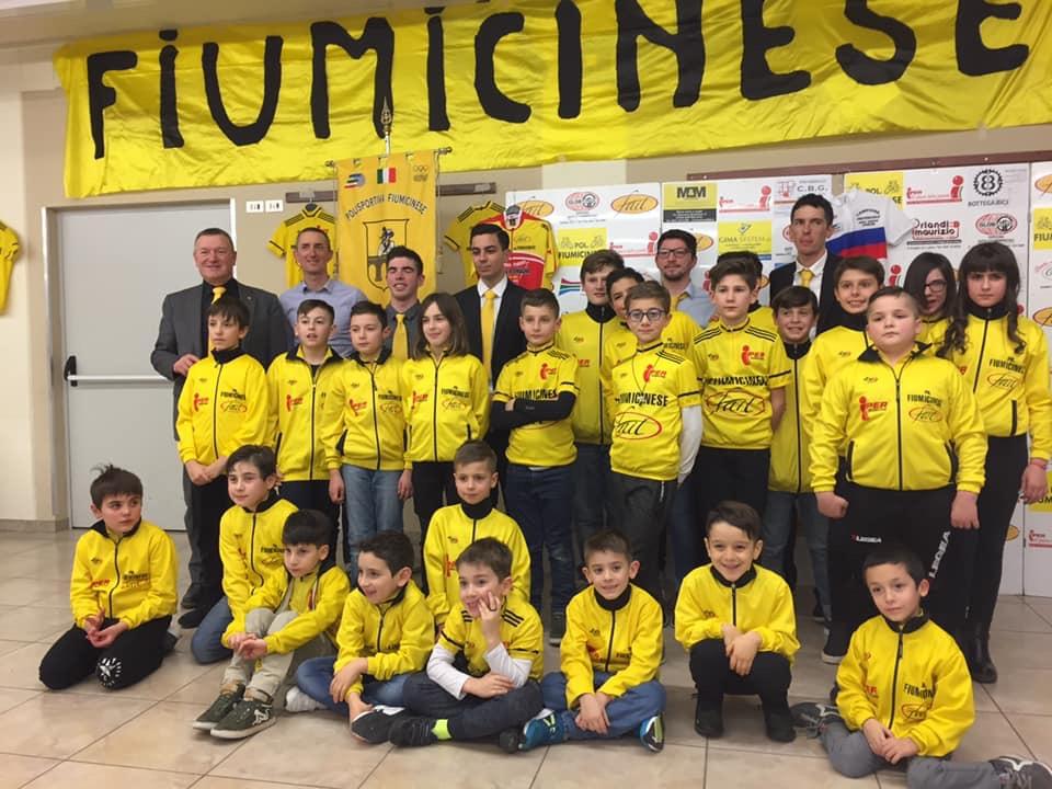 Giovanissimi della Pol. Fiumicinese 2019