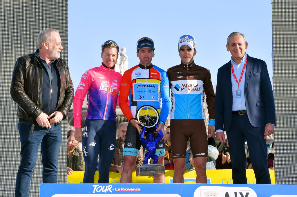 Gorka Izagirre vincitore del Tour de La Provence 2019 sul podio