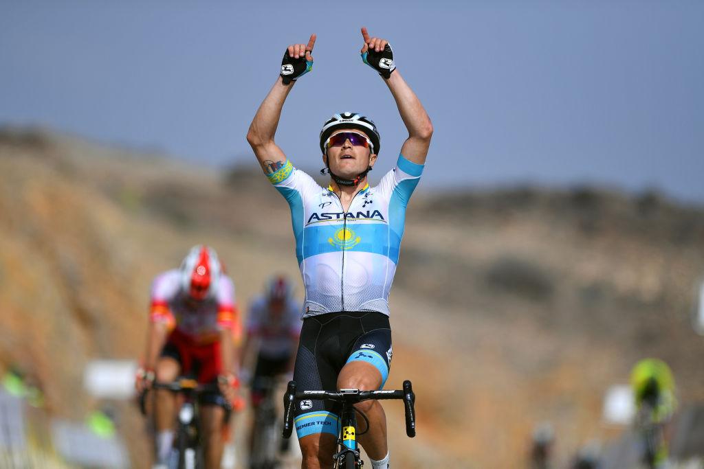 Alexey Lutsenko vince anche la terza tappa del Tour of Oman 2019