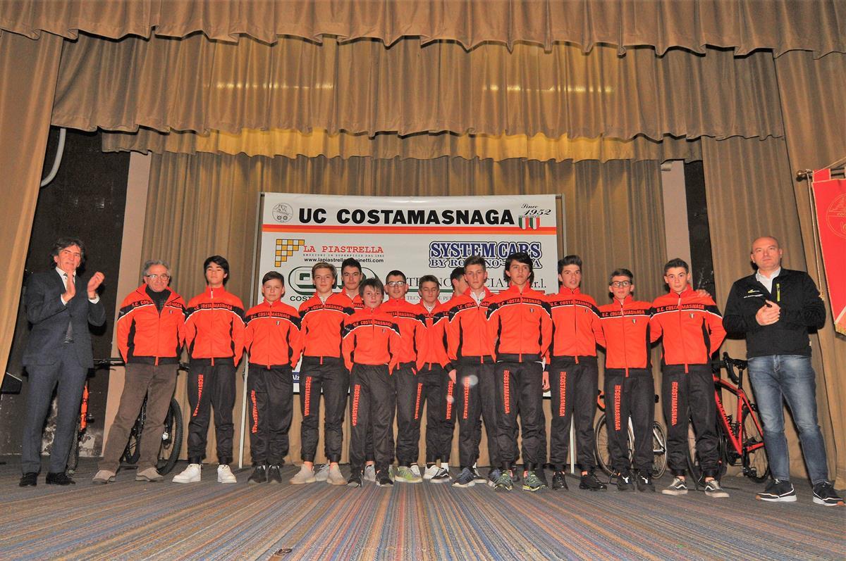 Gruppo Allievi strada Uc Costamasnaga 2019