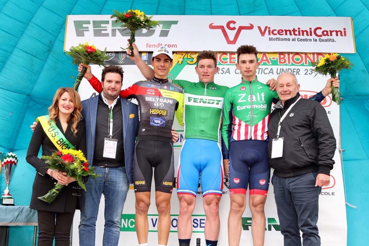 Il podio della Vicenza-Bionde 2019