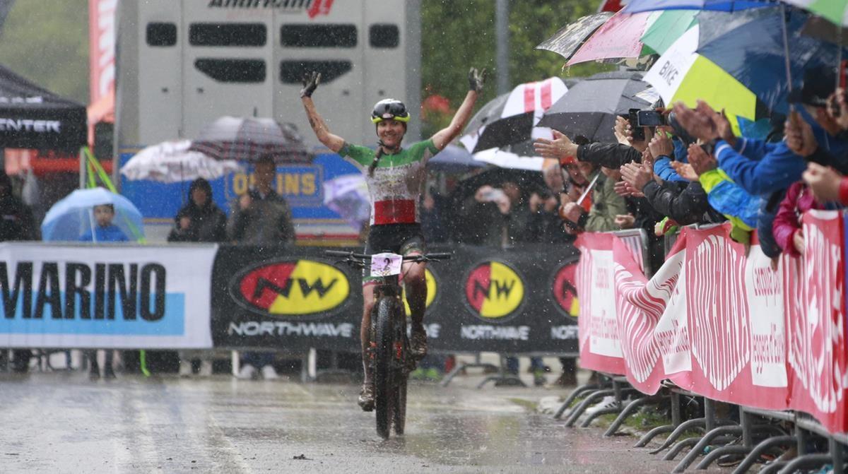 Eva Lechner vince la Titano XCO 2019 a San Marino (foto Mario Pierguidi)