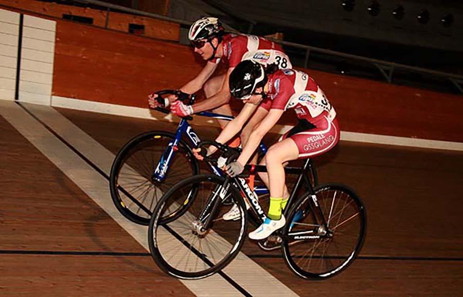 Sprint tra Francesca Barale e Manuel Sannazzaro a Aigle (Svizzera)
