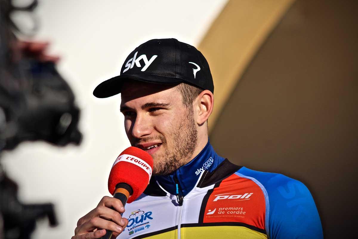 Filippo Ganna primo leader del Tour de La Provence 2019