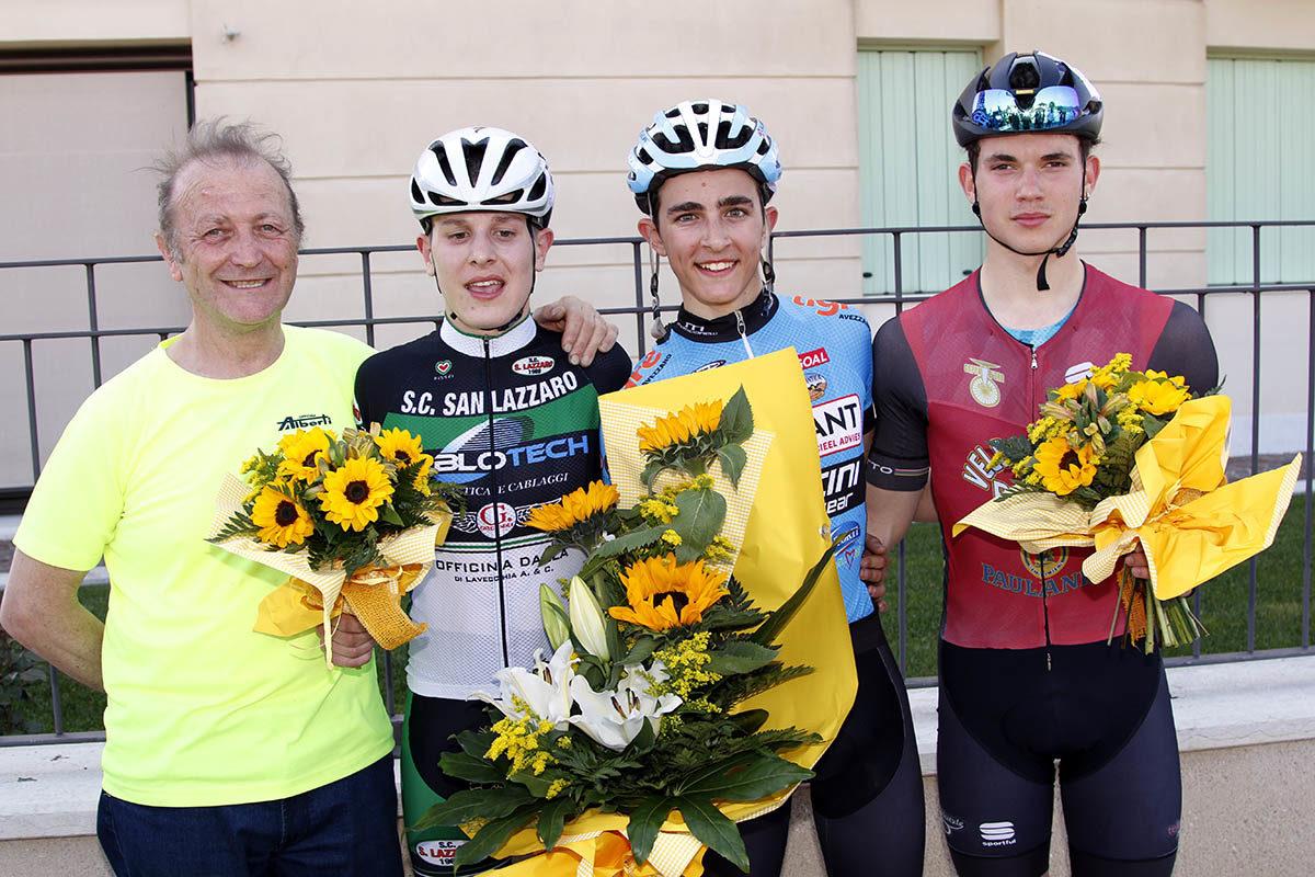 Il podio del Trofeo Comune di Illasi (Photobicicailotto)