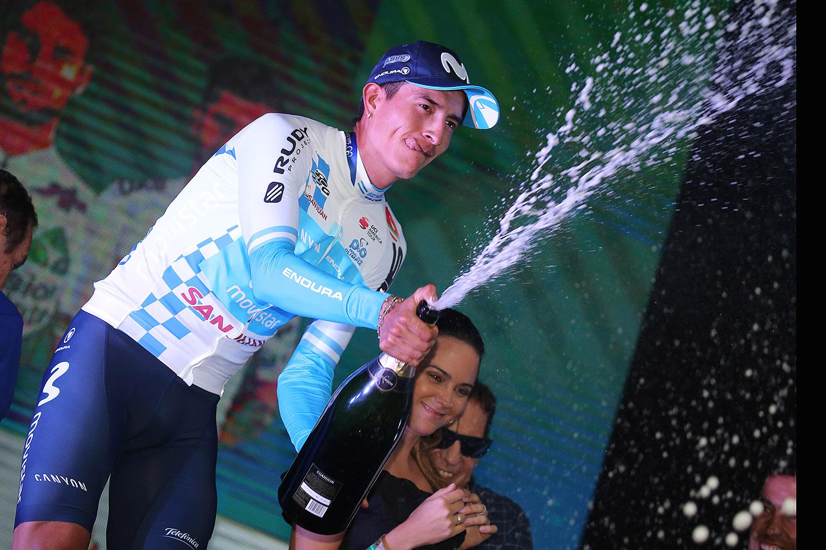 Winner Anacona leader della Vuelta a San Juan
