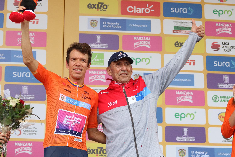 Rigoberto Uran primo leader del Tour Colombia 2019